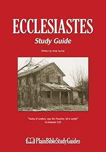 Ecclesiastes Study Guide (cover)