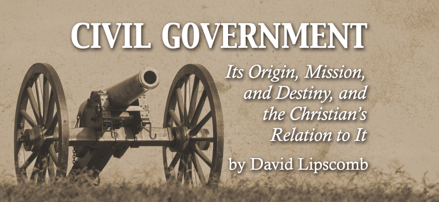 Civil Government (David Lipscomb)