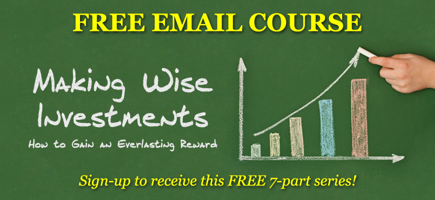 Email Course: Making Wise Investments