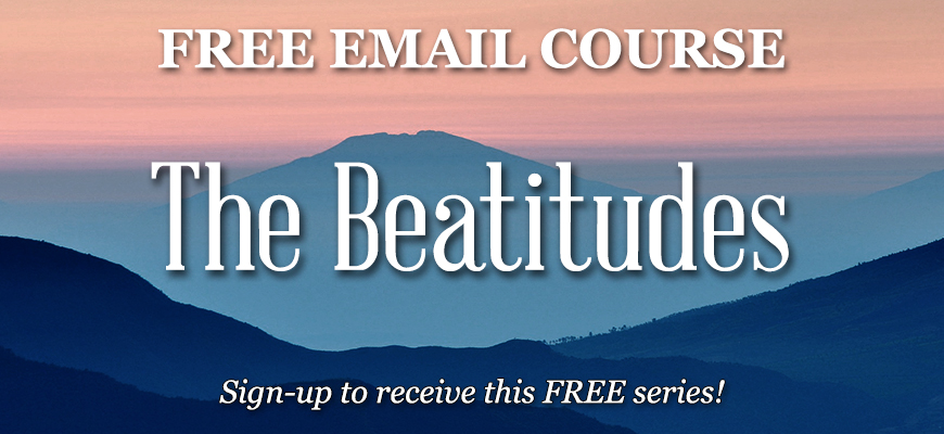 The Beatitudes (Email Course)