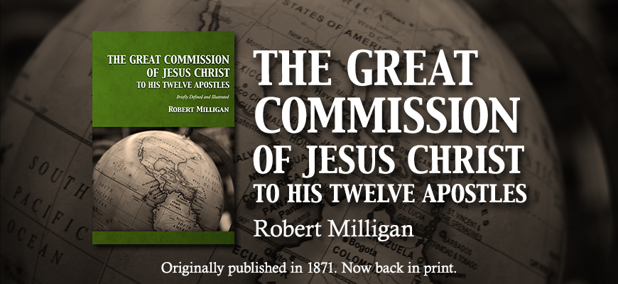 The Great Commission of Jesus Christ