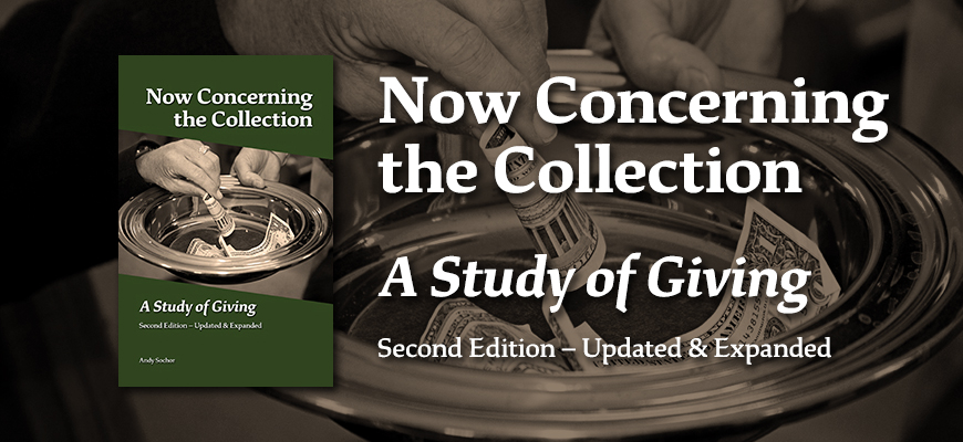 Now Concerning the Collection: A Study of Giving