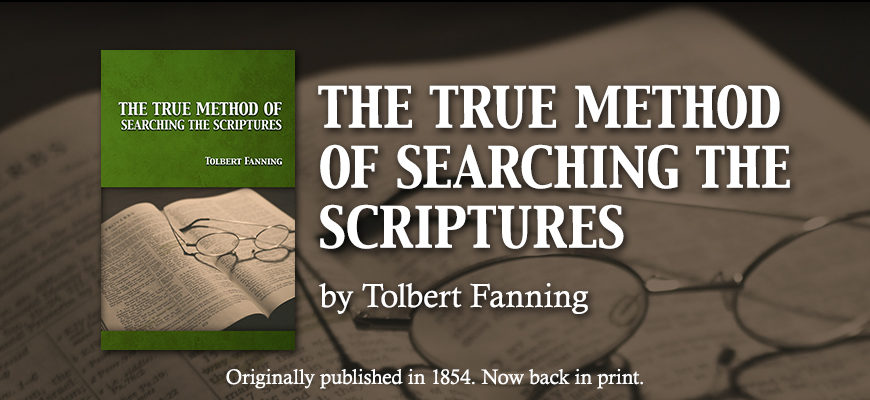 The True Method of Searching the Scriptures