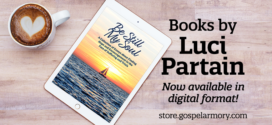 Books by Luci Partain now available in digital format